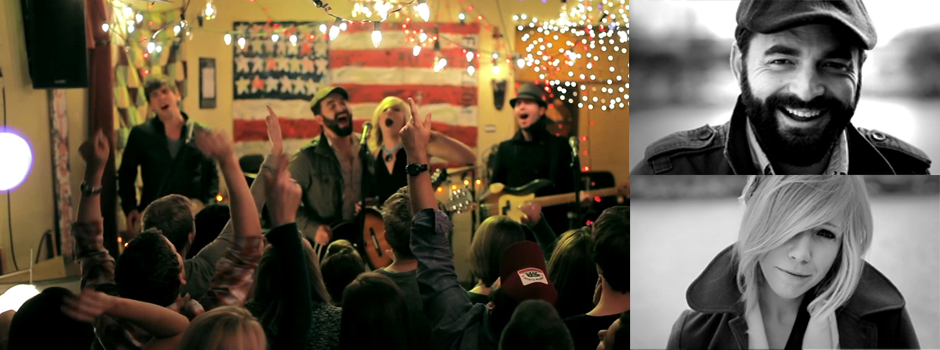 """Fire and Dynamite"" – Drew Holcomb & The Neighbors"